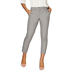 Dorothy Perkins - Grey split hem ankle grazer  trousers