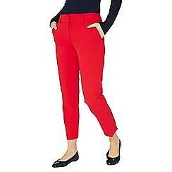 Dorothy Perkins - Raspberry split hem ankle grazer trousers