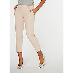 Dorothy Perkins - Blush split hem ankle grazer trousers