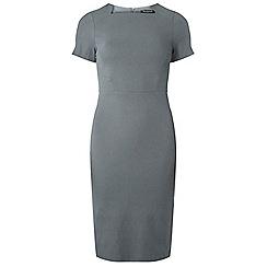 Dorothy Perkins - Grey square neck pencil dress