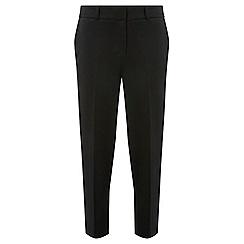 Dorothy Perkins - Black textured slim trousers