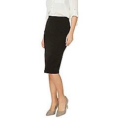 Dorothy Perkins - Black workwear pencil skirt