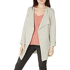 Dorothy Perkins - Cream knitted waterfall jacket