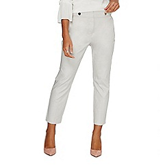 Dorothy Perkins - Grey button tab trousers