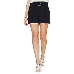 Dorothy Perkins - Navy 0-ring shorts
