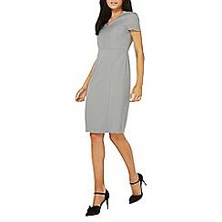 Dorothy Perkins - Grey spot pencil dress