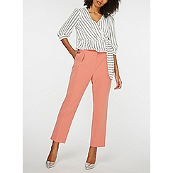 Dorothy Perkins - Rose elastic back peg trousers