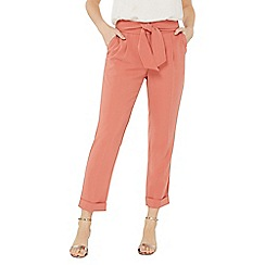 Dorothy Perkins - Rose tie tapered trousers