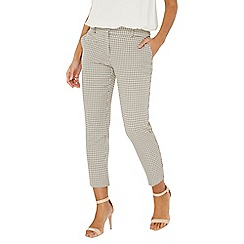 Dorothy Perkins - Multi coloured check ankle grazer trousers