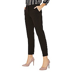 Dorothy Perkins - Black split hem ankle grazer trousers