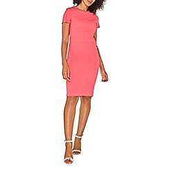 Dorothy Perkins - Raspberry wide waistband pencil dress