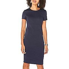 Dorothy Perkins - Navy wide waistband pencil dress