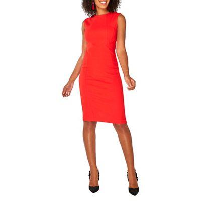 Dorothy Perkins   Red Arrow Waist Pencil Dress by Dorothy Perkins