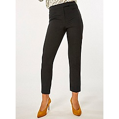 Dorothy Perkins - Black short straight trousers