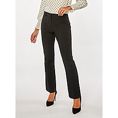 Dorothy Perkins - Black bootcut trousers