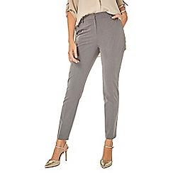 Dorothy Perkins - Grey d-ring slim trousers