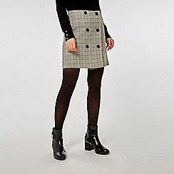 Dorothy Perkins - Multicoloured checked mini skirt