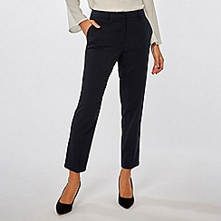 Dorothy Perkins - Navy Ankle Grazer Trousers