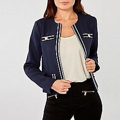 Dorothy Perkins - Navy Riviera Boxy Jacket