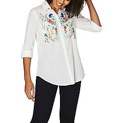 Dorothy Perkins - White plain prairie shirt