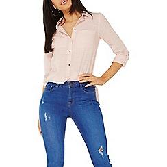 Dorothy Perkins - Pink gold button shirt