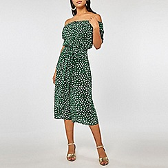 Dorothy Perkins - Green Essential Ditsy Floral Print Jumpsuit