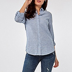 Dorothy Perkins - Chambray linen shirt