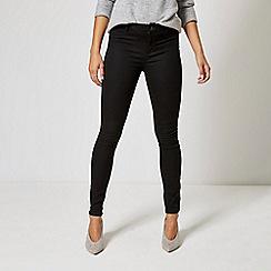 Dorothy Perkins - Black Frankie skinny jeans