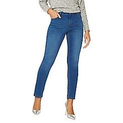 Dorothy Perkins - Washed indigo ashley straight leg jeans