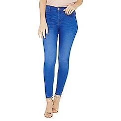 Dorothy Perkins - Bright blue frankie super skinny jeans