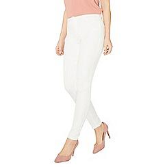 Dorothy Perkins - White frankie - super skinny jeans