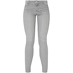 Dorothy Perkins - Silver grey frankie jeans