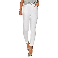 Dorothy Perkins - White shape and lift jeans