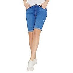 Dorothy Perkins - Bright blue knee shorts