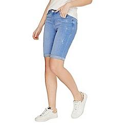 Dorothy Perkins - Ice blue knee shorts