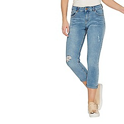 Dorothy Perkins - Blue authentic corey cropped jeans