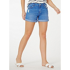 Dorothy Perkins - Bright blue boy shorts
