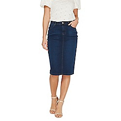 Dorothy Perkins - Indigo pencil skirt