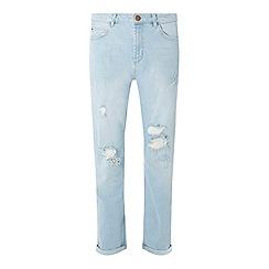 Dorothy Perkins - Bleach rip boyfriend jeans
