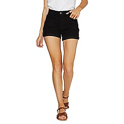 Dorothy Perkins - Black denim shorts