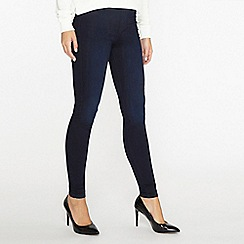 Dorothy Perkins - Blue and black eden super soft jeggings