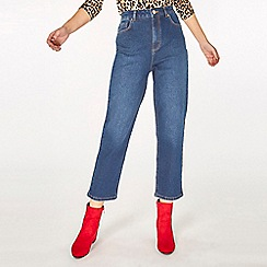 Dorothy Perkins - Indigo billie high waisted straight leg jeans