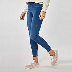 Dorothy Perkins - Blue Eden Super Soft Ankle Grazer Jeggings