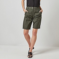 Dorothy Perkins - Khaki Knee Shorts