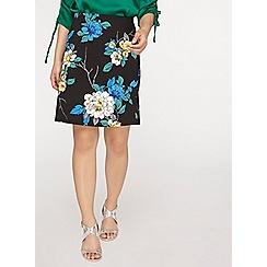 Dorothy Perkins - Petite multi floral print mini skirt