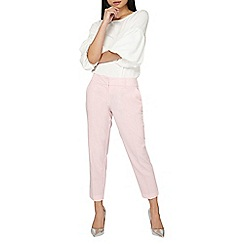 Dorothy Perkins - Petite blush naples ankle grazer trousers