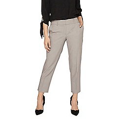 Dorothy Perkins - Petite grey naples ankle grazer trousers