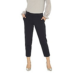 Dorothy Perkins - Petite navy naples ankle grazer trousers