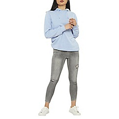 Dorothy Perkins - Petite grey darcy ankle grazer jeans