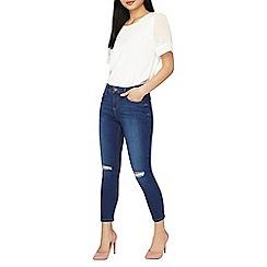 Dorothy Perkins - Petite indigo darcy jeans
